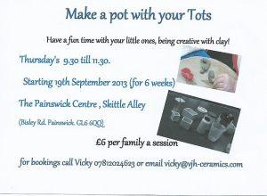 make a pot with tot